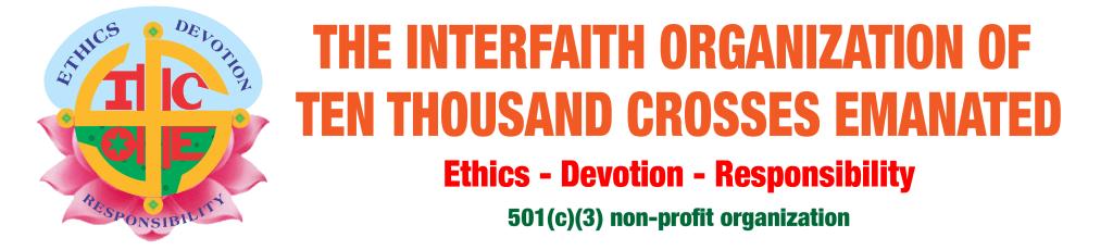 Interfaith Organization of Ten Thousand Crosses Emanated